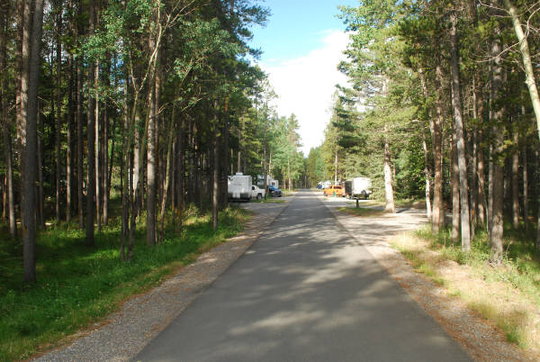Full hookup campsites in alberta Tunnel Mountain Trailer Court Campground
